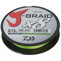 DAIWA J-BRAID X8 - CHARTREUSE