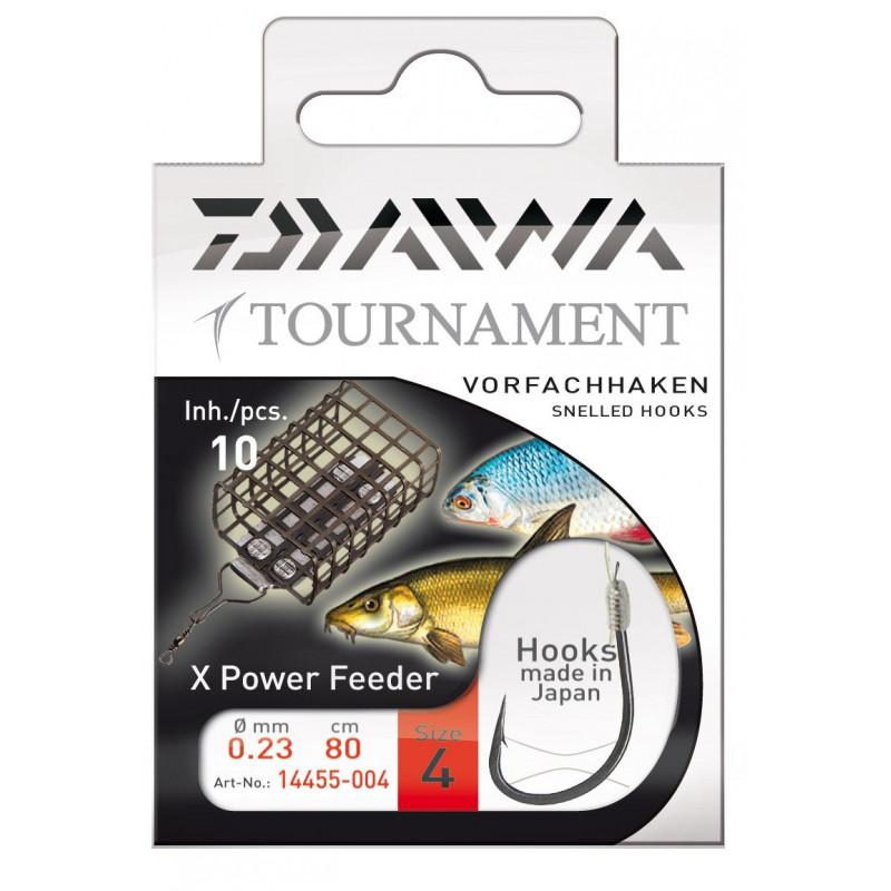 DAIWA TOURNAMENT HÁČIKY - X POWER FEEDER