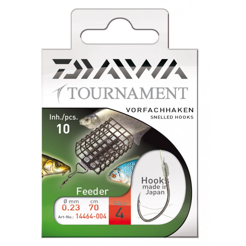 DAIWA TOURNAMENT HÁČIKY - FEEDER
