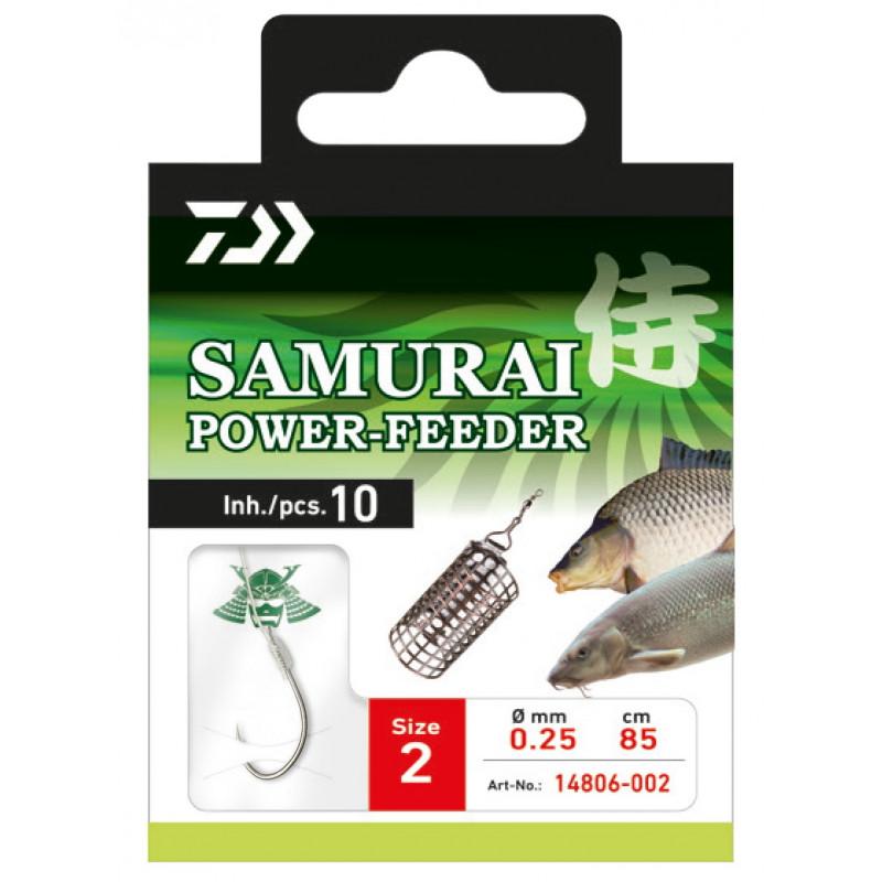 DAIWA SAMURAI HÁČIKY - POWER FEEDER