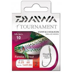 Naviazané Háčiky na pstruhy Daiwa Tournament