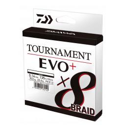 DAIWA Tournament 8 Braid Evo+ White rybárska pletená šnúra