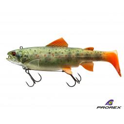 DAIWA Prorex Live Trout Swimbait DF Live brown trout Gumená nástraha