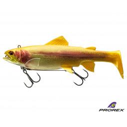 DAIWA Prorex Live Trout Swimbait DF Live gold trout Gumená nástraha