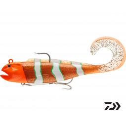 DAIWA D-Wolf Curly orange psycho Gumená nástraha na more