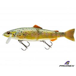 DAIWA Prorex Hybrid Trout live brown trout Hybridná nástraha
